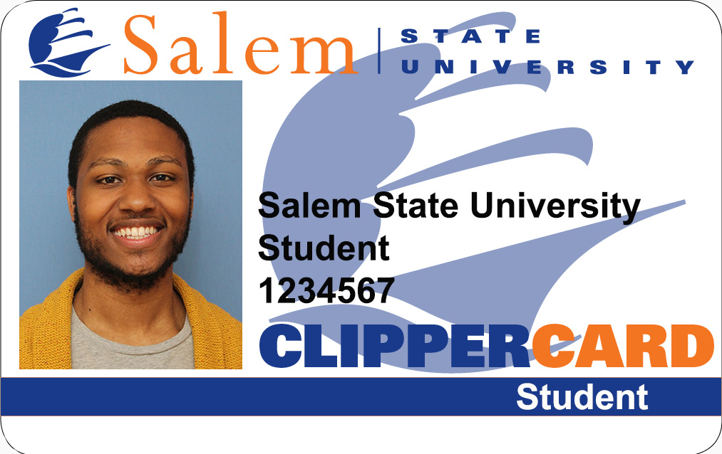 Picture of ClipperCard with student